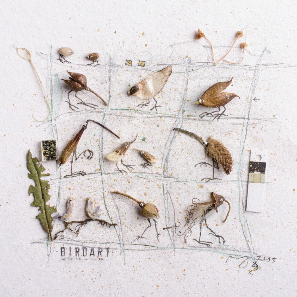 Miniaturcollage BirdArt