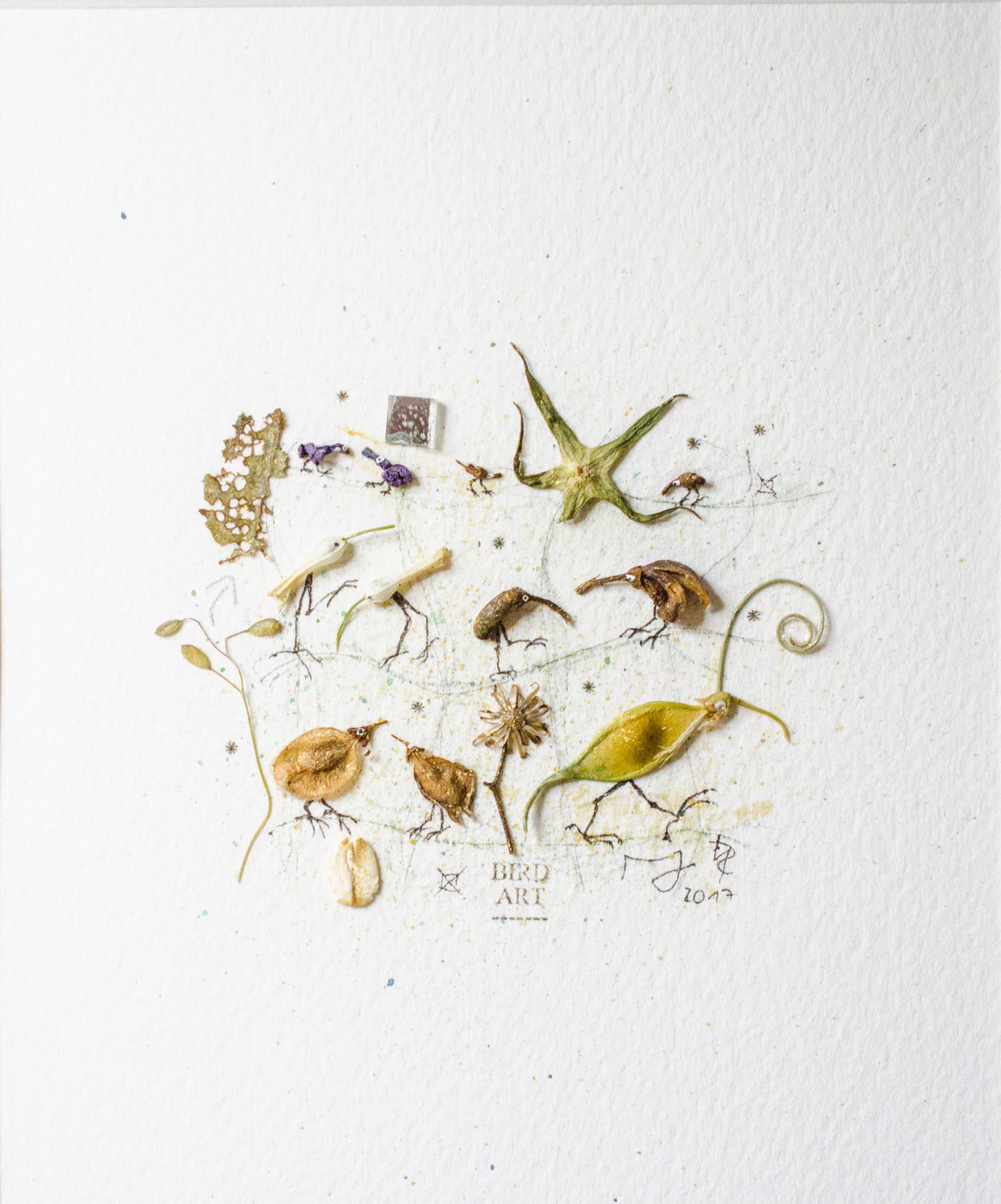 Miniature collage