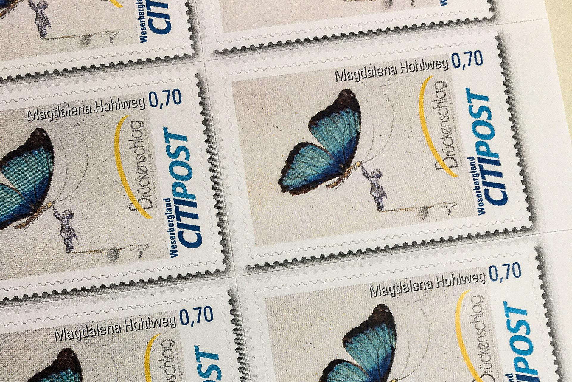 Briefmarkeklein